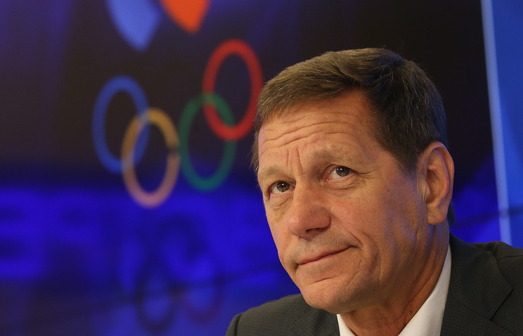 Alexander Zhukov, the Russian Olympic Committee president