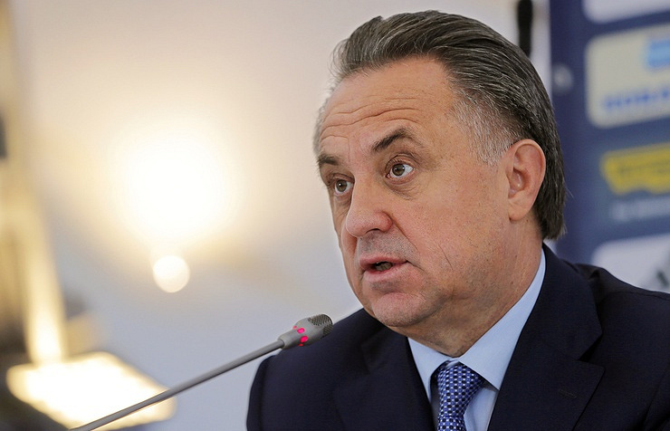 Russia's Minister of Sports Vitaly Mutko