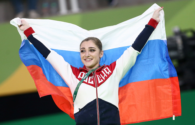 Olympics: Mustafina defends uneven bars title; Kocian grabs silver
