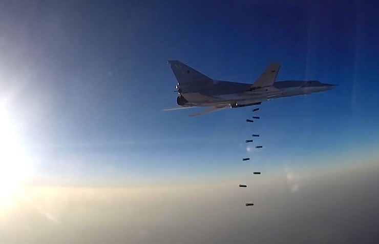 Russian strategic bomber over Syria (Archive)
