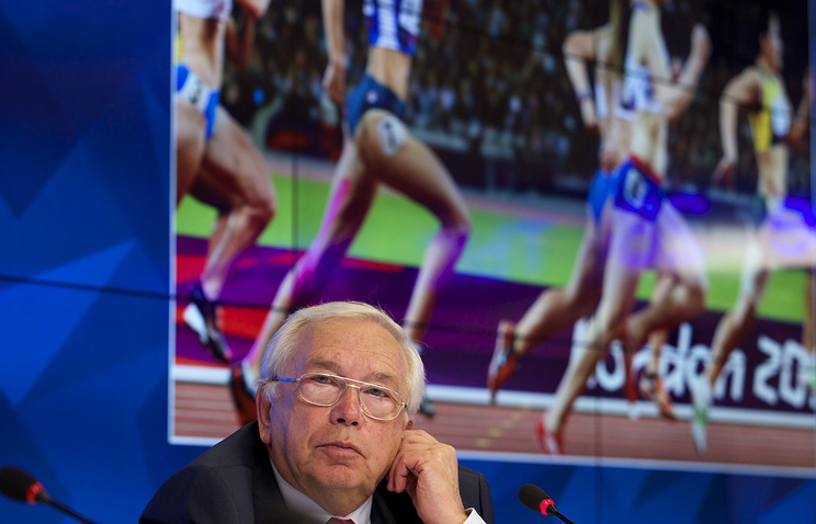 Vladimir Lukin, the head of the Russian Paralympic Committee