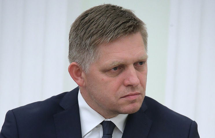 Slovakia's Prime Minister Robert Fico