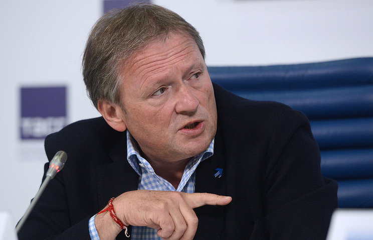 Russian president's businessmen rights ombudsman Boris Titov