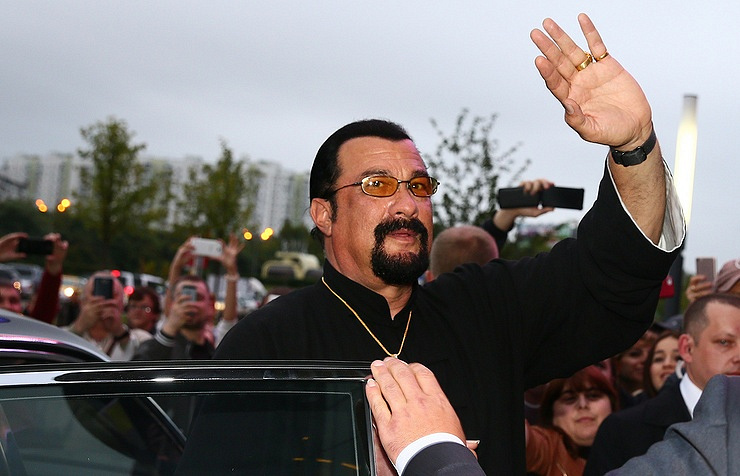 Hollywood actor Steven Seagal