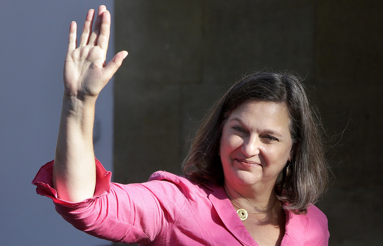 US Assistant Secretary of State for European Affairs Victoria Nuland