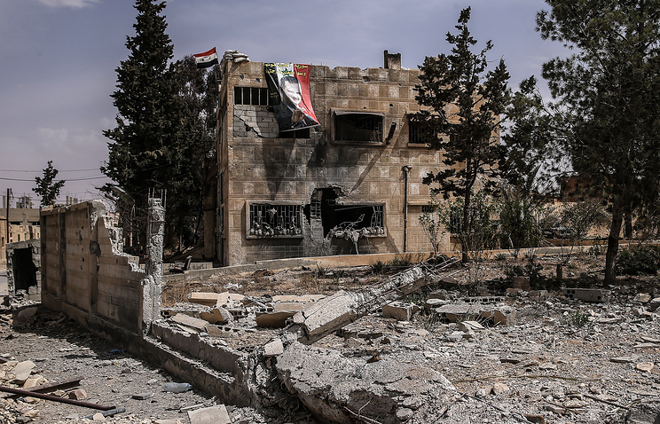 Syrian town of Al-Qaryatayn liberated from IS militants