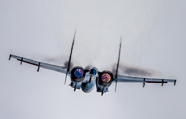 Sukhoi Su-27 strategic bomber