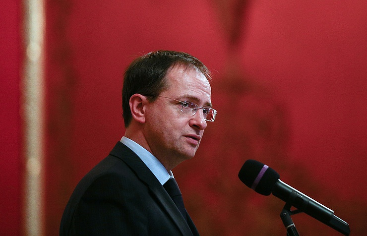 Minister of Culture Vladimir Medinskiy is taking part in the reading
