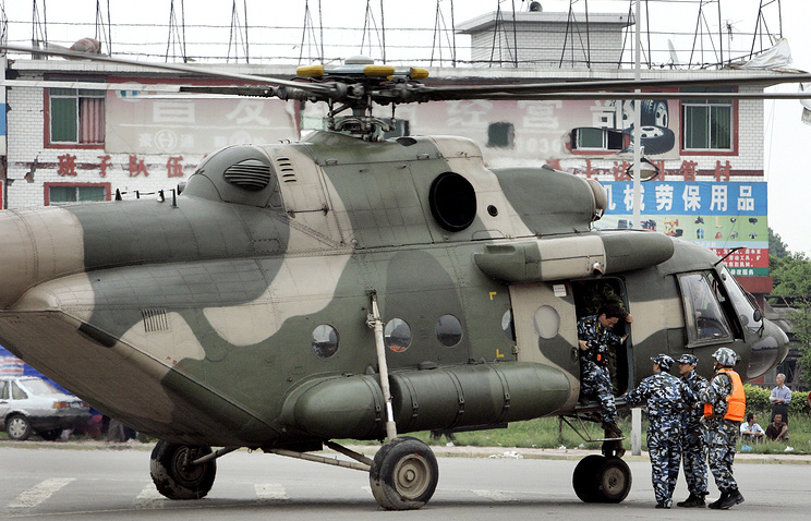 Mi-171 military helicopter