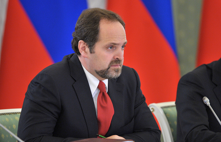 Russian Minister of Natural Resources and Ecology Sergey Donskoy