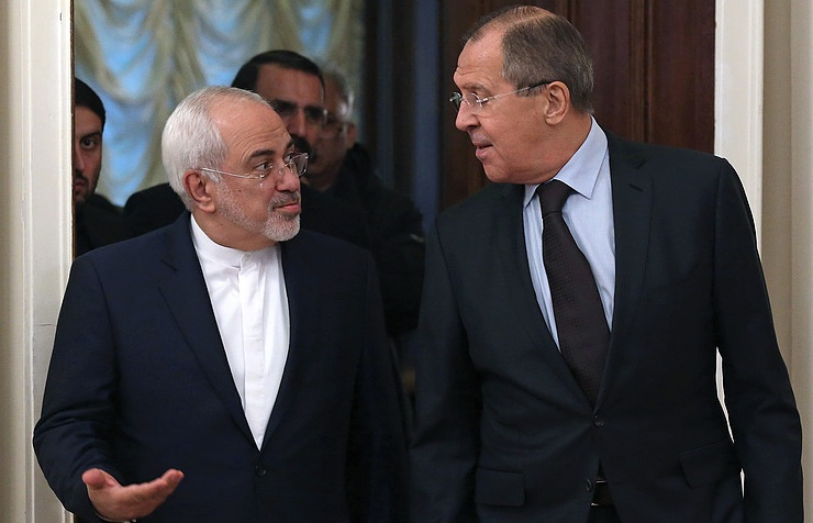 Iranian and Russian top diplomats