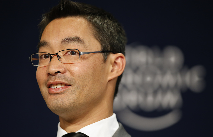 The World Economic Forum's Member of the Managing Board and Director Philipp Rosler