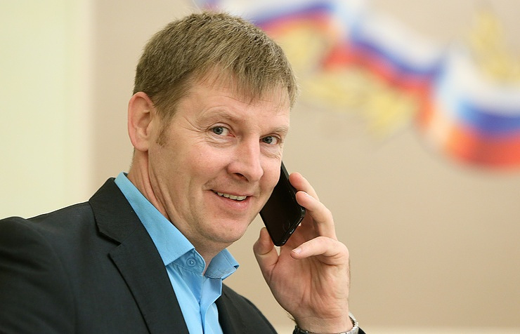 Alexander Zubkov, President of the Russian Bobsleigh Federation