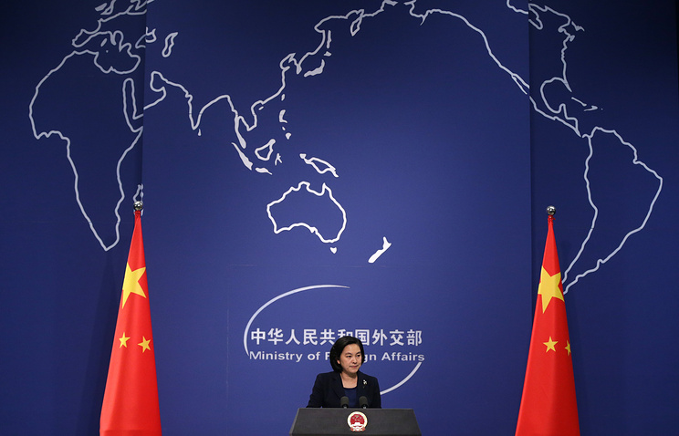 Chinese Foreign Ministry spokeswoman Hua Chunying