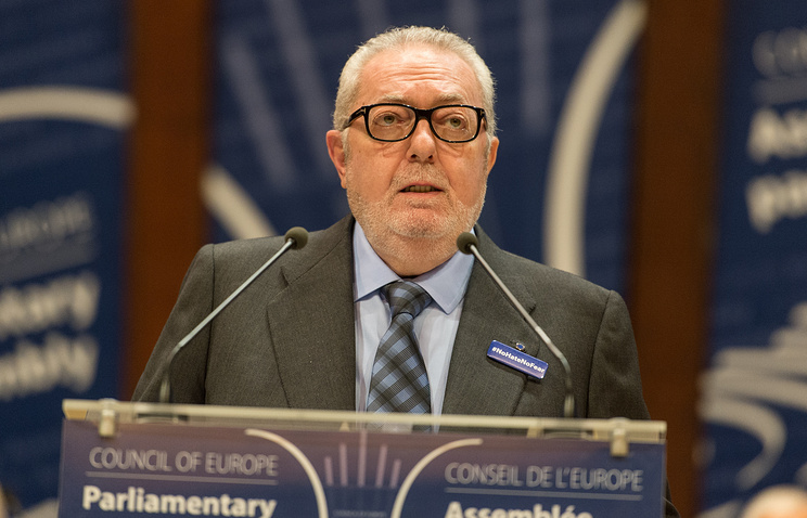 President of the Council of Europe, Pedro Agramunt