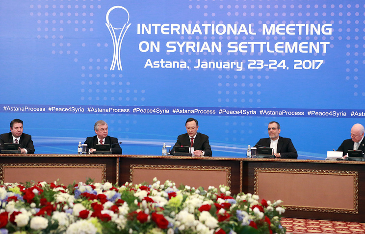Syria peace talks close to final declaration
