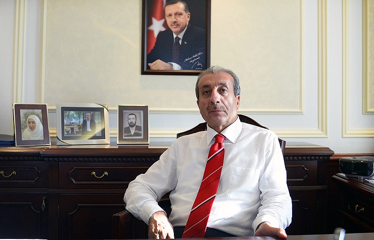 Deputy chairman of the Justice and Development party, Mehmet Mehdi Eker