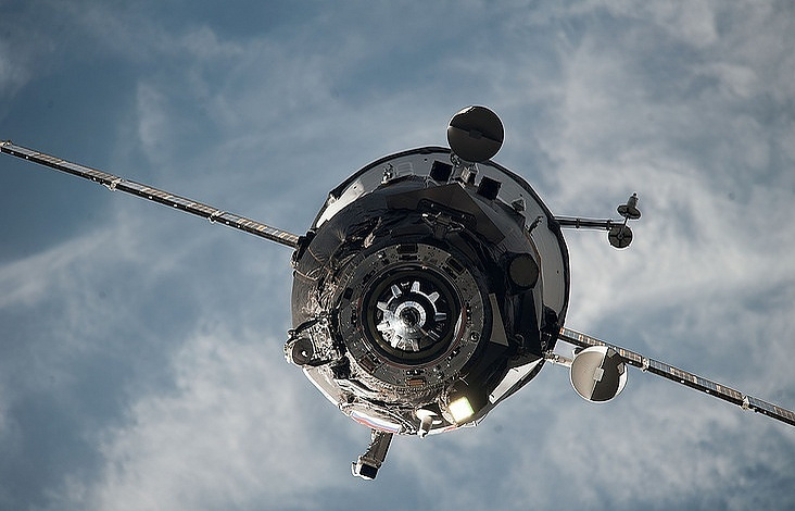 Russian cargo craft arrives at space station