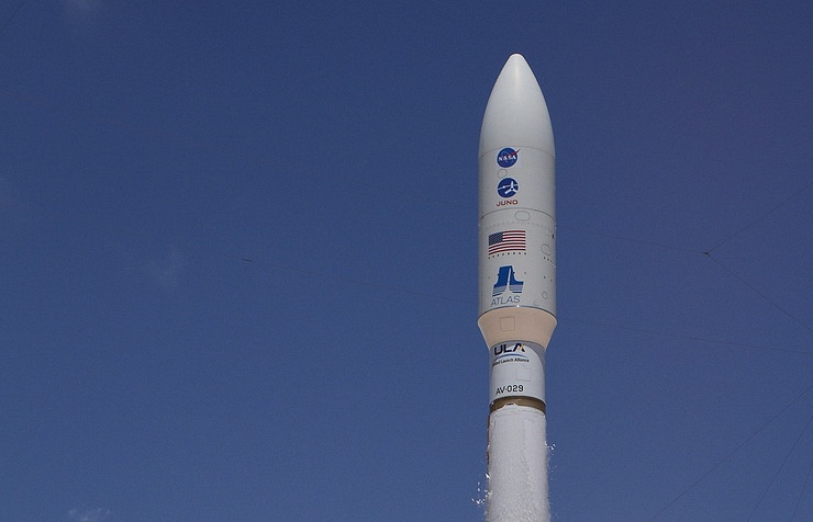 Atlas V carrier rocket