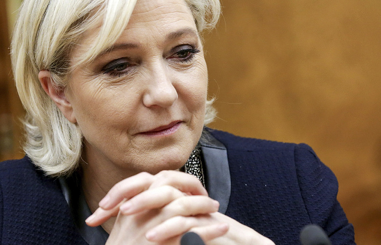 French presidential candidate Marine Le Pen