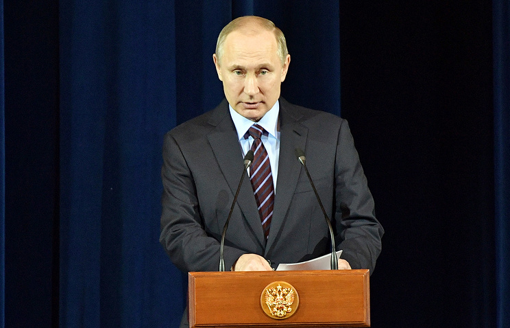 Putin vows he won't allow color revolutions in Russian Federation