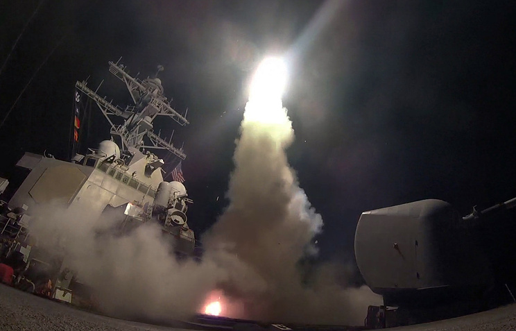 US strike on Syria posed a threat to Russia