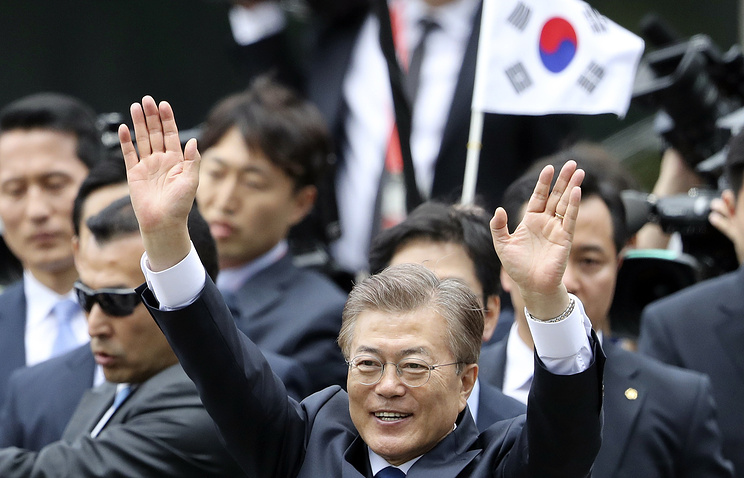 South Korea's new President Moon Jae-in