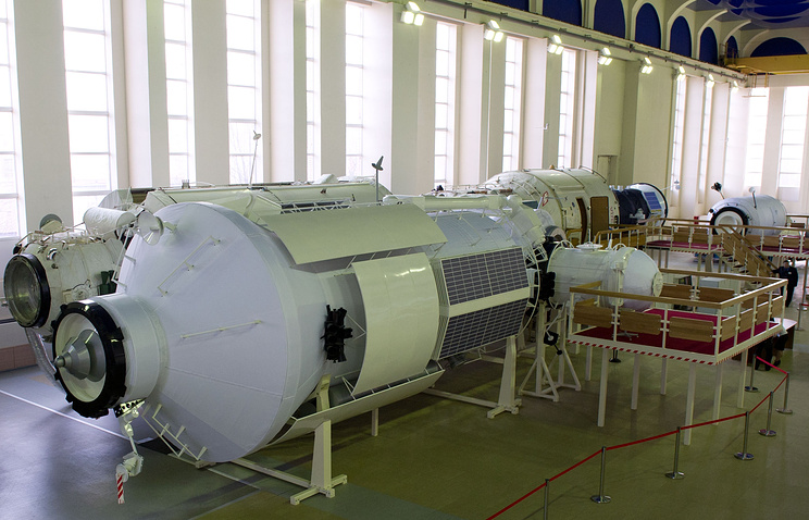 International Space Station mock-up training module