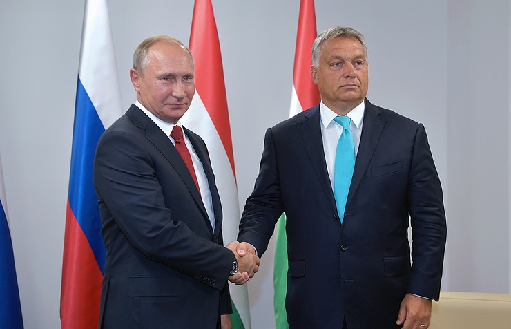 Putin to meet with Hungarian prime minister