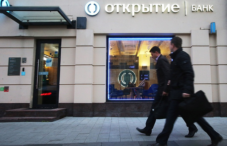 Central Bank Steps In to Save Russia's Eighth Largest Bank Otkritie