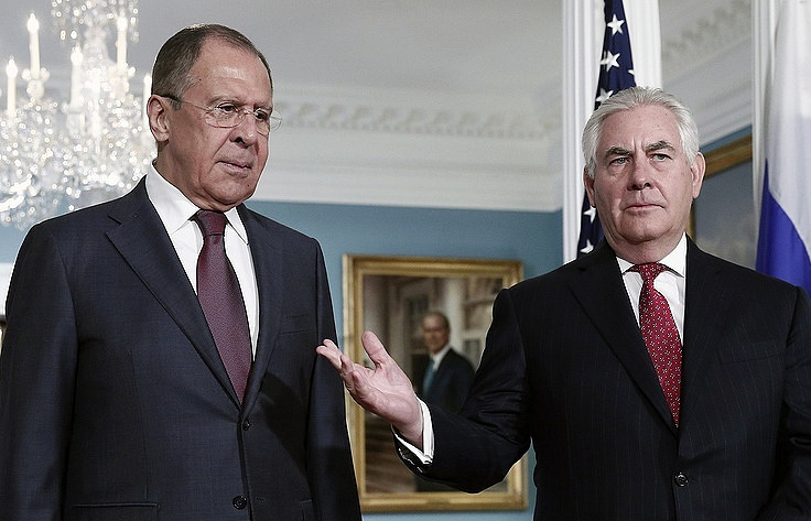 Russian Diplomat Claims Tillerson, Lavrov Meeting is a 'Positive Sign'
