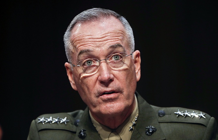 Chairman of the Joint Chiefs of Staff General Joseph Dunford