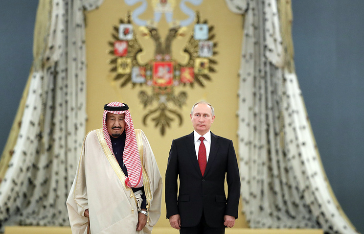Russia, Saudi Arabia to set up $1 billion technology fund