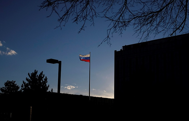The Russian Embassy in Washington