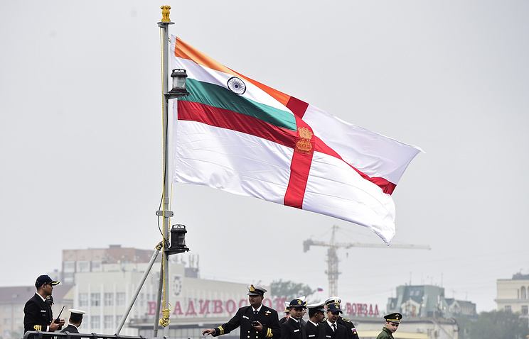 Opening ceremony of Indo-Russia Tri-services Exercise