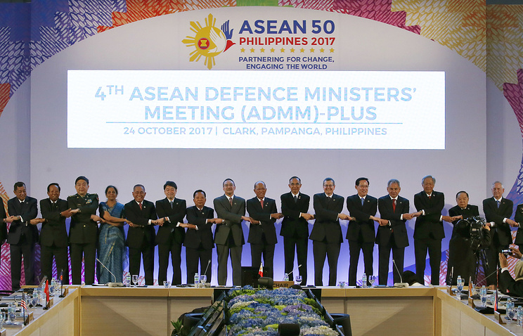 ASEAN defense chiefs