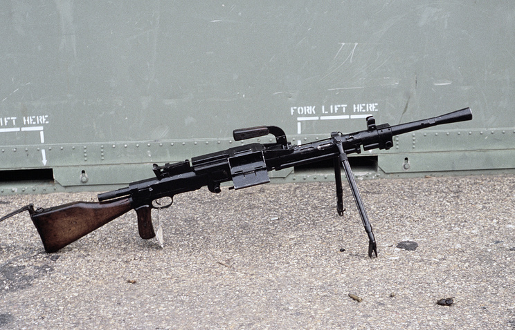 RP-46 variant of the Degtyaryov machine gun