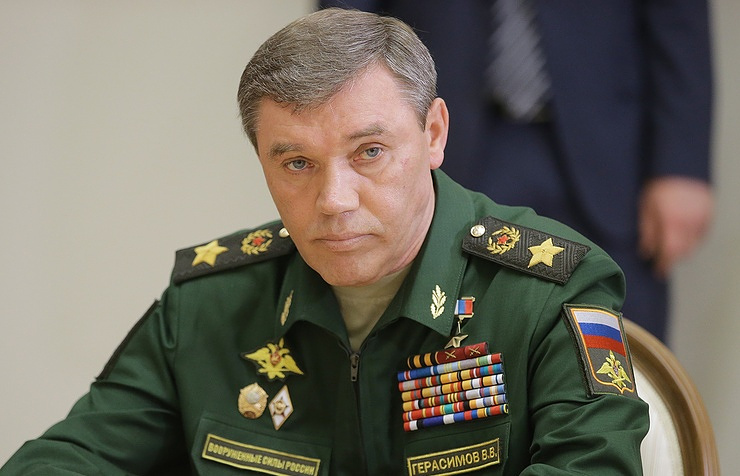 The chief of the Russian General Staff, Army Gen. Valery Gerasimov
