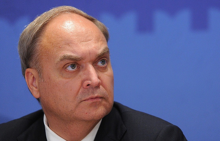 Russia's ambassador to the United States, Anatoly Antonov