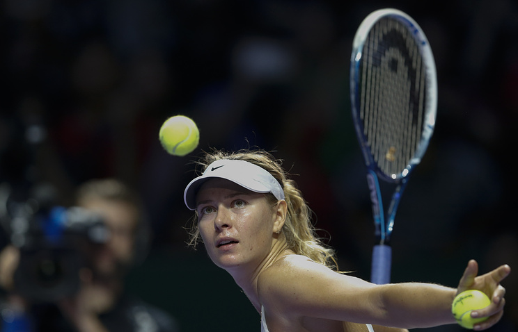 Sharapova to open her 2018 Australian Open campaign against Germany's Tatjana Maria