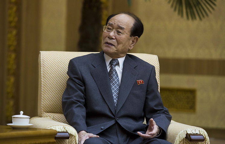President of the Presidium of Supreme People's Assembly Kim Yong-nam