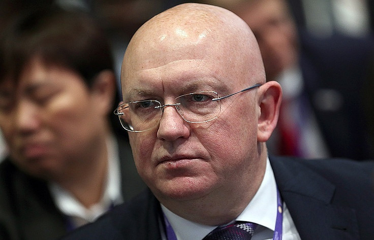 Russian Permanent Representative to the United Nations Vasily Nebenzya