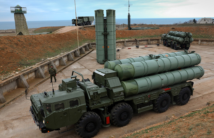 S-400 anti-aircraft missile systems
