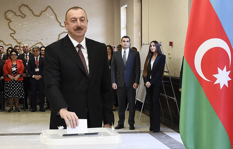 Landslide Win For Azerbaijan President Aliyev, Adds to 15-year Tenure