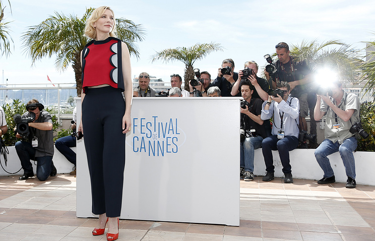 Cate Blanchett, President of the Jury of the 71st annual Cannes Film Festival