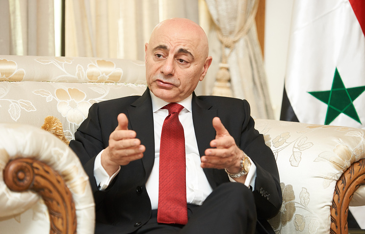 Syrian ambassador to China Imad Moustapha