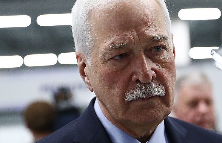 Russia's envoy to the Contact Group for Ukraine Boris Gryzlov