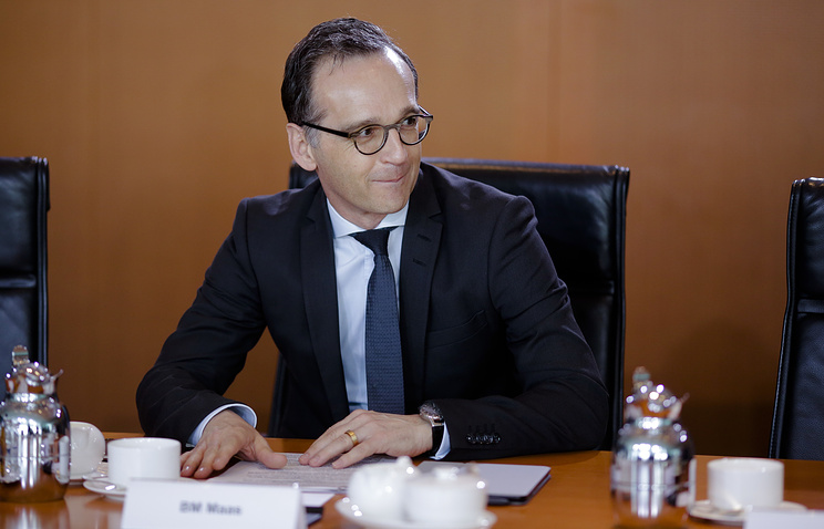 German Foreign Minister Heiko Maas