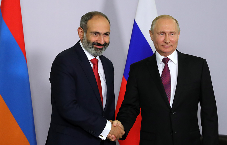 Russian, Armenian leaders hope to maintain close partnership