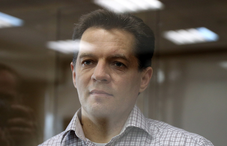 Ukrainian journalist Sushchenko sentenced to 12 years for espionage